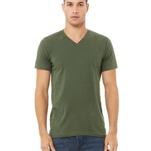 3005, Canvas Unisex Short-Sleeve V-Neck T-Shirt Thumbnail
