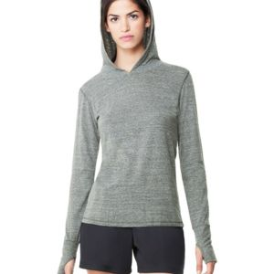 Women's Triblend Long Sleeve Hooded Pullover Thumbnail